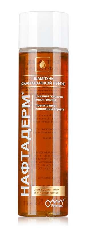 Нафтадерм шампунь с нафталанской нефтью 250мл, фото №1