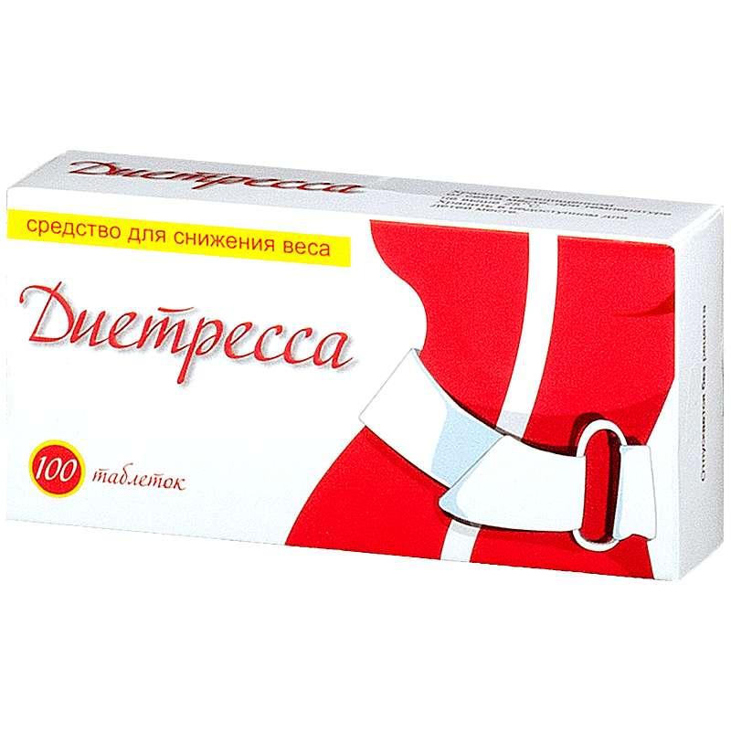 ДИЕТРЕССА таблетки для рассасывания 100 шт.