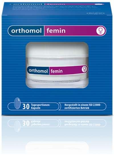 Ортомоль фемин капсулы 60 шт., фото №1