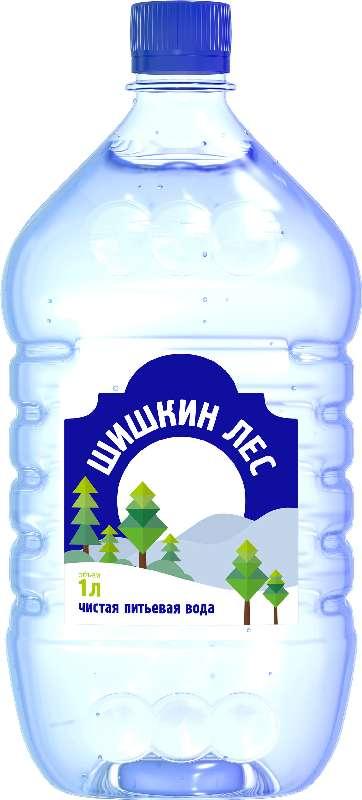 Вода мин. шишкин лес 1,0л без газа, фото №1