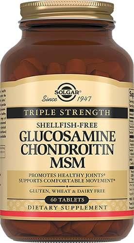 Солгар глюкозамин-хондроитин комплекс таблетки 60 шт., фото №1