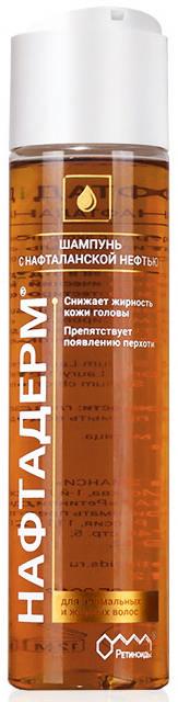 НАФТАДЕРМ шампунь с нафталанской нефтью 150мл