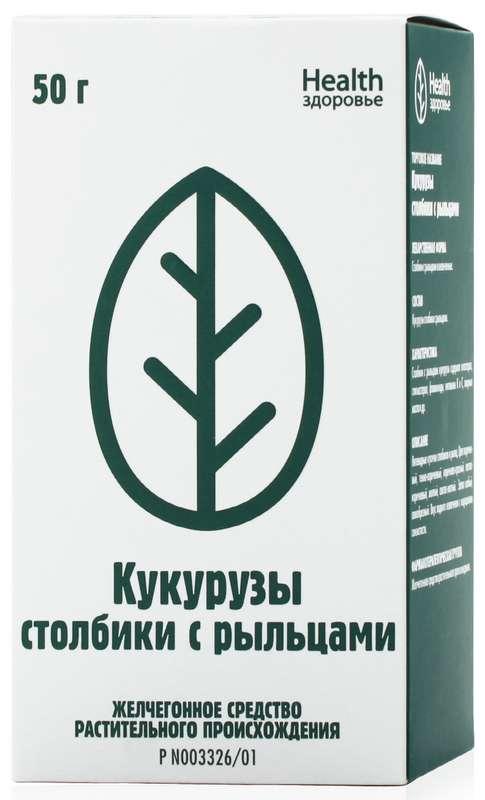 Кукурузные столбики с рыльцами 50г здоровье, фото №1