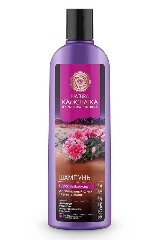 НАТУРА СИБЕРИКА КАМЧАТКА шампунь для тонких/ослабленных волос Царский эликсир 280мл  2