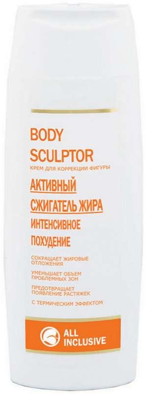 Олл инклюзив крем для коррекции фигуры боди скульптор 250мл, фото №1