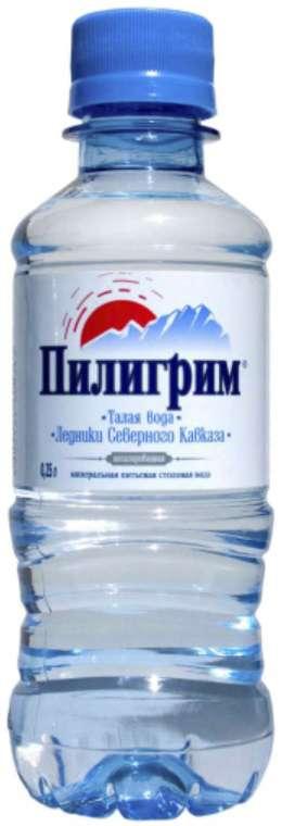 Вода минеральная пилигрим 0,25л без газа, фото №1