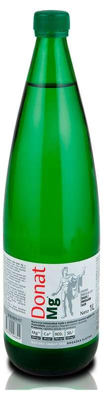 Донат mg вода минеральная 1л стекло, фото №1