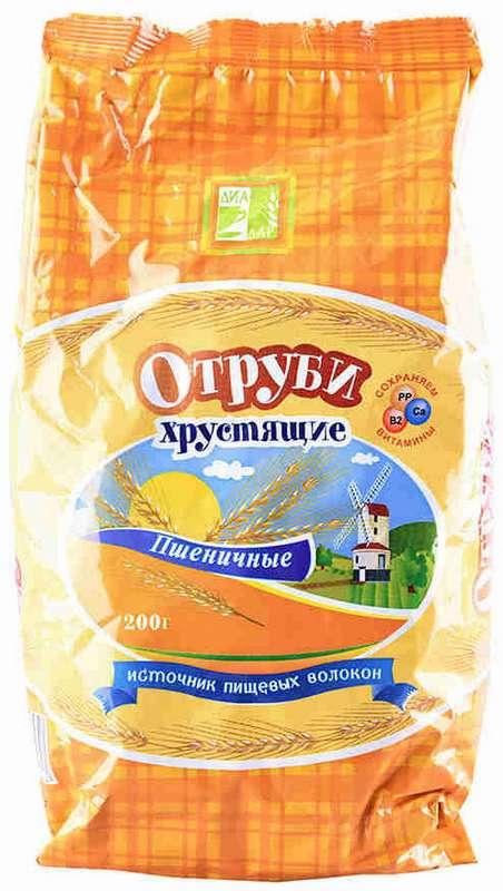 Отруби пшеничные диадар 200г, фото №1