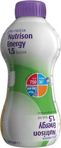 Нутризон энергия смесь для энтерального питания 0,5л, фото №1