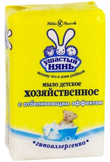 Ушастый нянь мыло хозяйств отбел эфф180г, фото №1