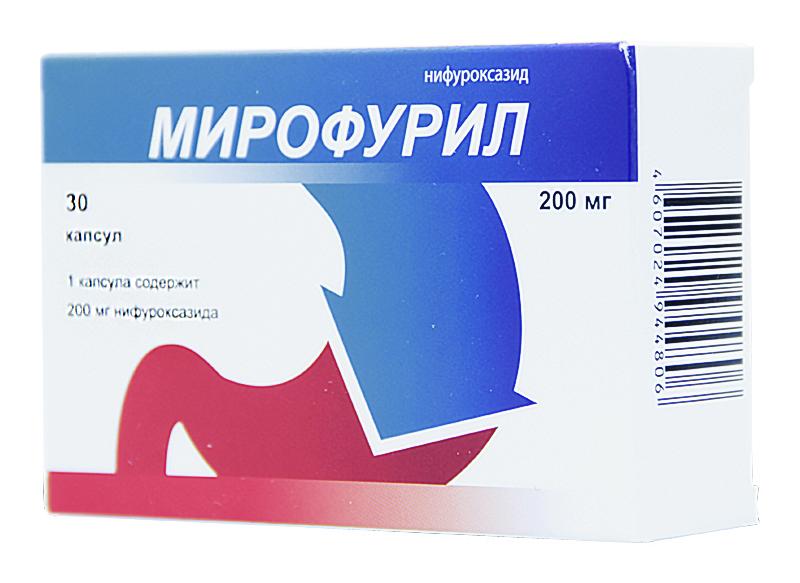 МИРОФУРИЛ 200мг 30 шт. капсулы  Обнинская химико-фармацевтическая компания