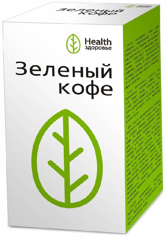 ЗЕЛЕНЫЙ КОФЕ С ИМБИРЕМ 2г 20 шт. фильтр-пакет Здоровье
