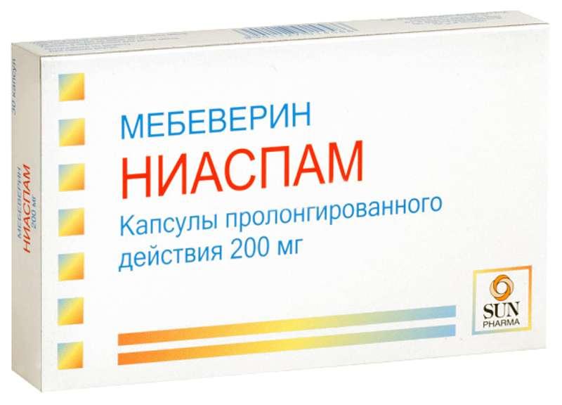 НИАСПАМ капсулы 200 мг 30 шт.