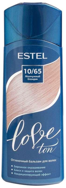 Эстель лав тон бальзам для волос оттеночный 10/65 жемчужный блондин 150мл, фото №1