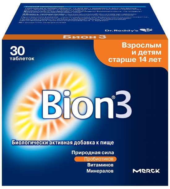 БИОН 3 таблетки 30 шт.