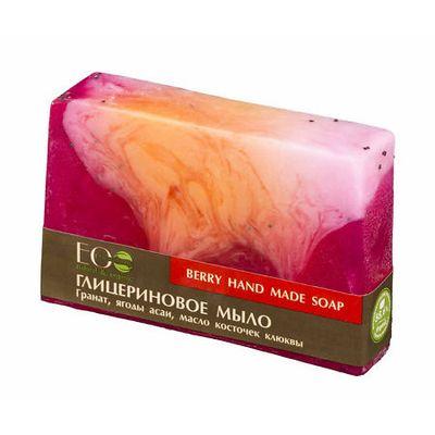 Эколаб мыло глицериновое ягодное 130г, фото №1