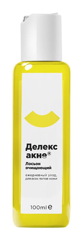 Делекс-акне лосьон для лица очищающий 100мл, фото №1