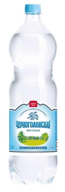 Черноголовская вода питьевая н/г столовая 1,5л пэт, фото №1