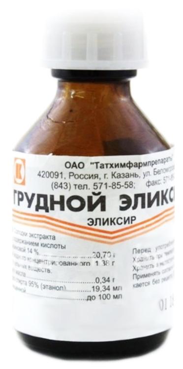 ГРУДНОЙ ЭЛИКСИР 25мл эликсир