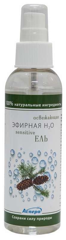 Аспера эфирная н2о сенситив спрей для лица и тела ель 150мл, фото №1