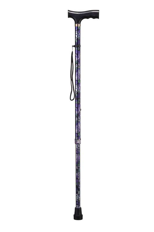 Би велл трость wr411 т-образная ручка цветы, фото №1