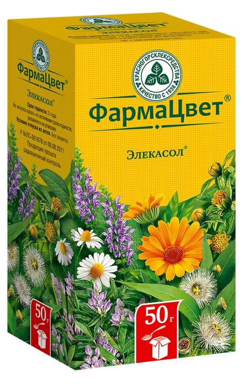 ЭЛЕКАСОЛ СБОР 50г