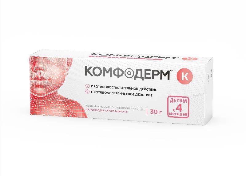 КОМФОДЕРМ К крем 0.1 % 30 г