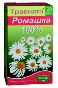 Травиата травяной чай ромашка 20 шт. фильтр-пакет эвалар, фото №1