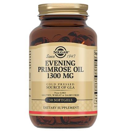 Солгар примулы вечерней масло капсулы 1300мг 30 шт., фото №1