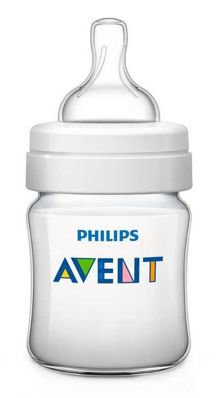 Авент набор (бутылочка 125мл + 2 соски силиконовые), фото №1