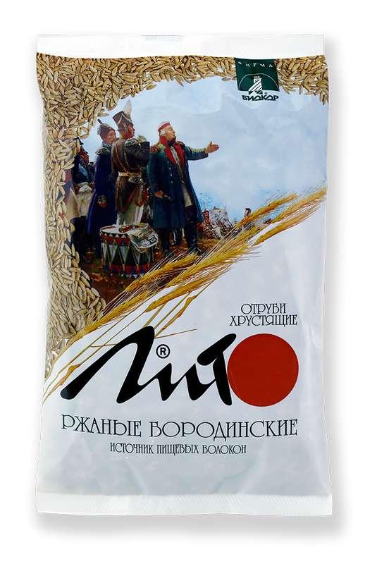 ЛИТО отруби ржаные хрустящие Бородинские 200г