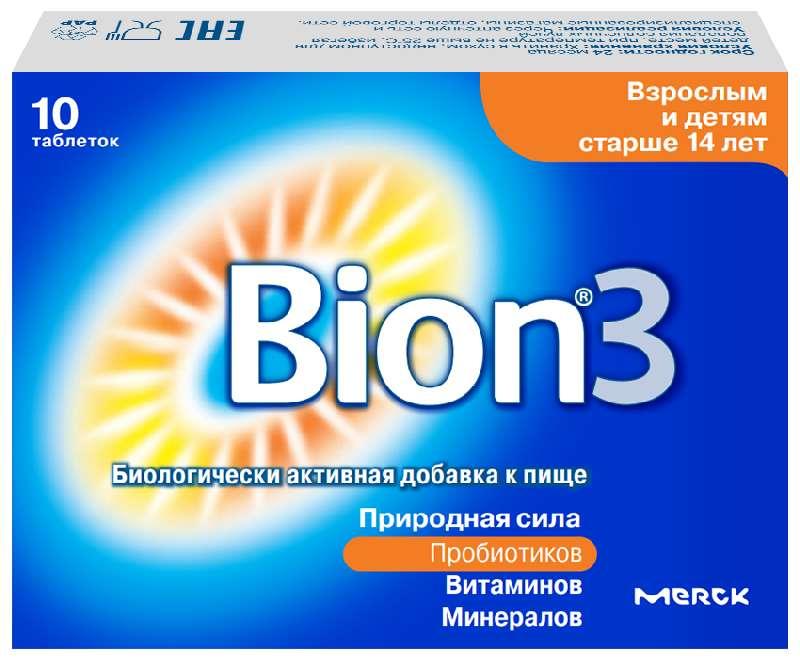 БИОН 3 таблетки 10 шт.