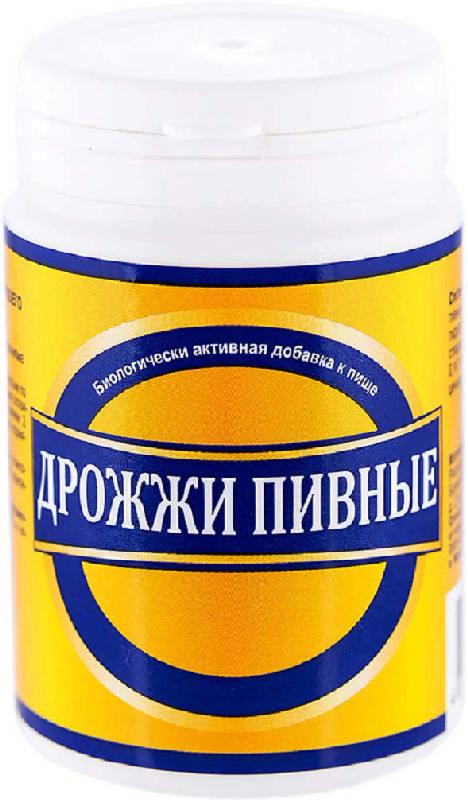 Дрожжи пивные таблетки 100 шт., фото №1