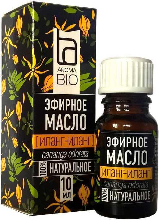 Аромабио масло эфирное иланг-иланг 10мл, фото №1