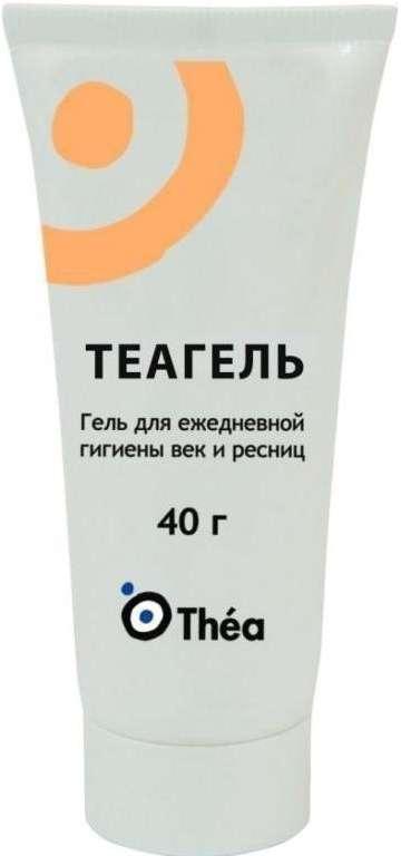 Теагель для век и ресниц 40г, фото №1