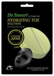 ДР. СМАРТ маска тканевая для проблемной кожи лица с маслом Чайного дерева 1 шт.