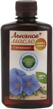 Азбука здоровья масло льняное 250мл, фото №1