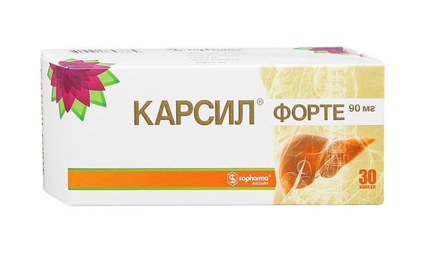 КАРСИЛ ФОРТЕ капсулы 90 мг 30 шт.