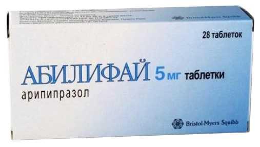 Абилифай 5мг 28 шт. таблетки, фото №1