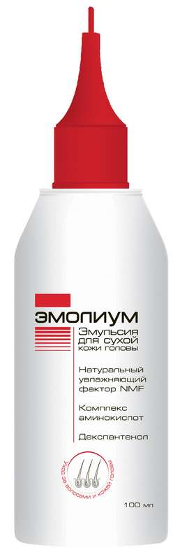 Эмолиум эмульсия для сухой кожи головы 100мл, фото №1