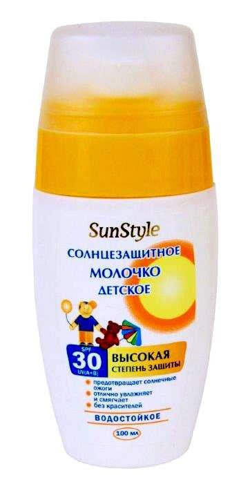 Молочко-спрей spf-30 детское солнцезащитное 100мл, фото №1