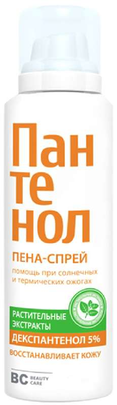 Биси пантенол крем-пена для ухода за кожей лица и тела 160мл химсинтез, фото №1