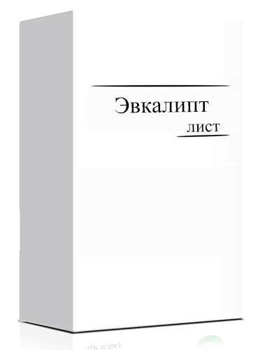 Эвкалипт лист фиточай 50г ндс 18%, фото №1