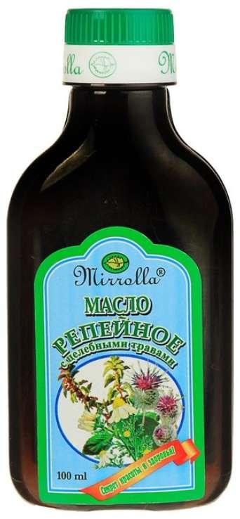 Мирролла масло репейное целебные травы 100мл, фото №1