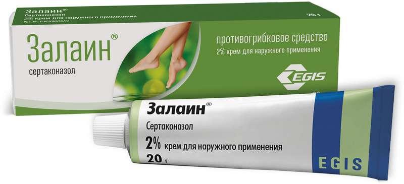 ЗАЛАИН 2% 20г крем для наружного применения