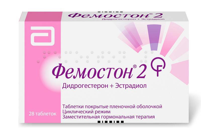 Фемостон таблетки 2/10 28 шт.;