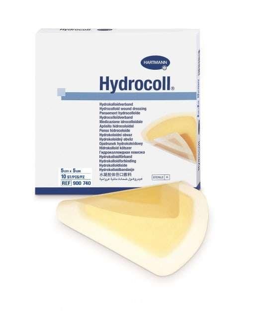 Хартманн гидроколл повязка гидроколлоидная 5х5см 10 шт., фото №1