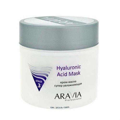 Аравия профешнл крем-маска для лица супер увлажняющая с гиалуроновой кислотой 300мл, фото №1