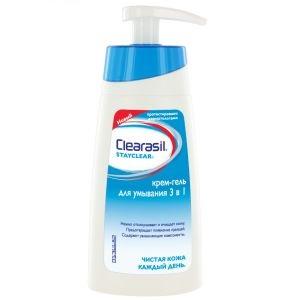 Клерасил stayclear крем-гель д/умывания ежедневный уход 3в1 150мл