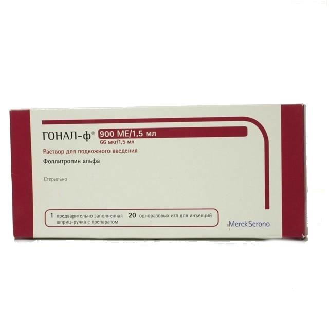 ГОНАЛ-Ф 900МЕ 66мкг/1,5мл 1 шт. раствор для подкожного введения шприц-ручка